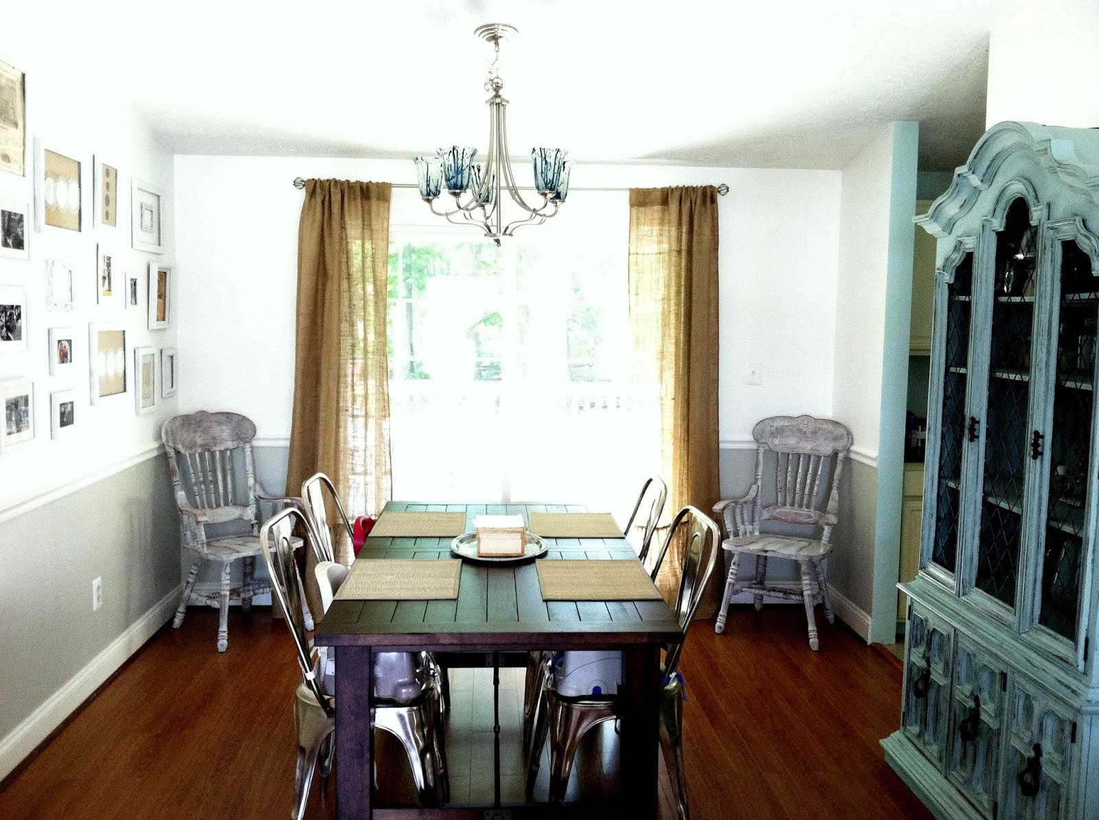 Dining Room Makeover Chelsea 39s Garage Dining Room Makeover Phases 3 And 4 Done