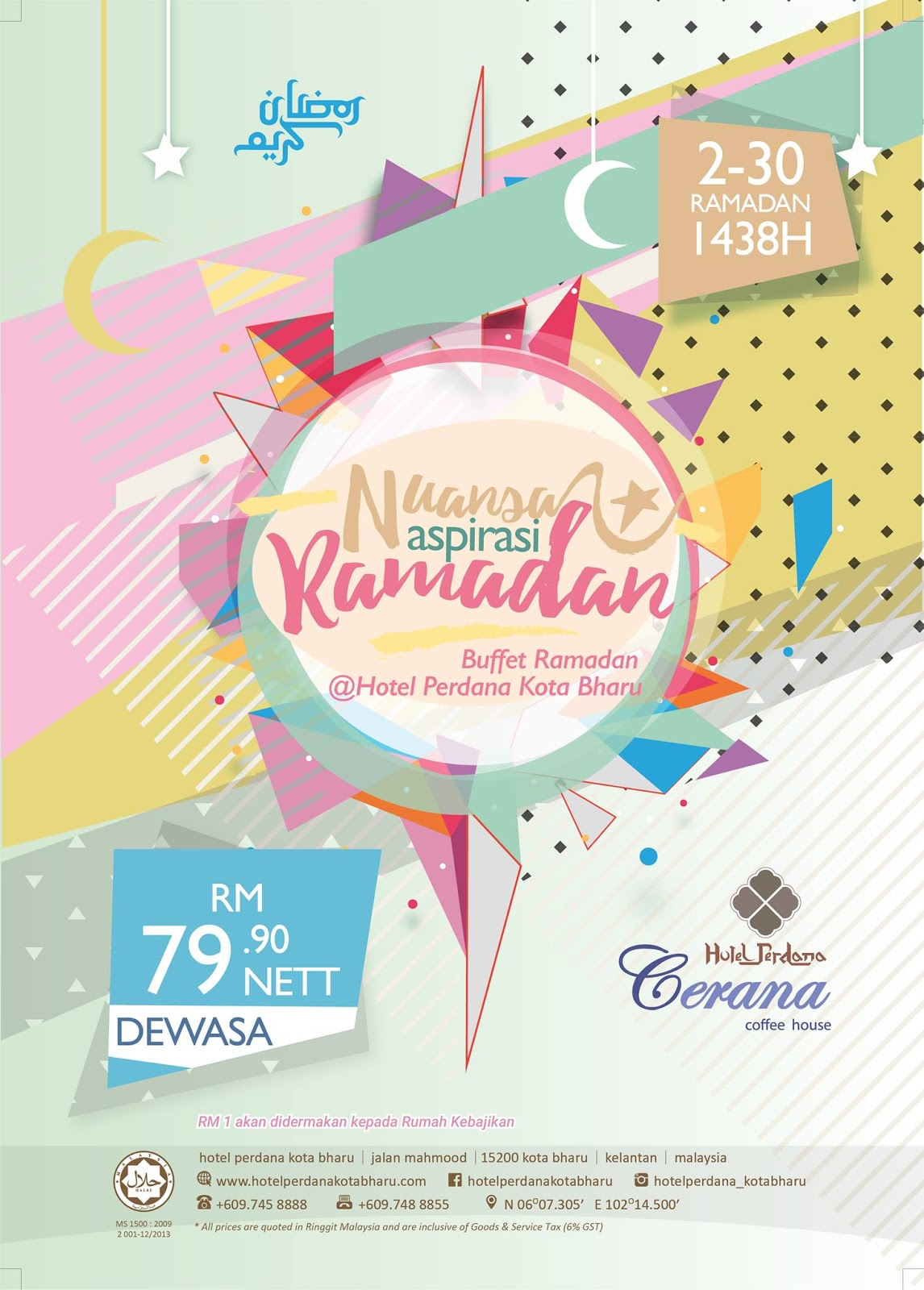kelantan hotel perdana kb ramadhan buffet