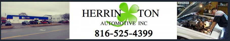 Herrington Auto: Service Repair Center | 816.525.4399 | Auto Sales | 816.282.9008 |