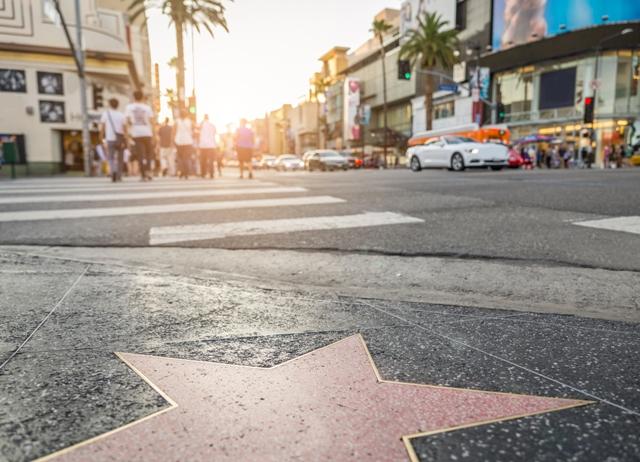 Los Angeles,  Paseo de la fama