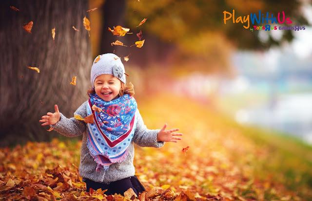 jeux extérieur automne