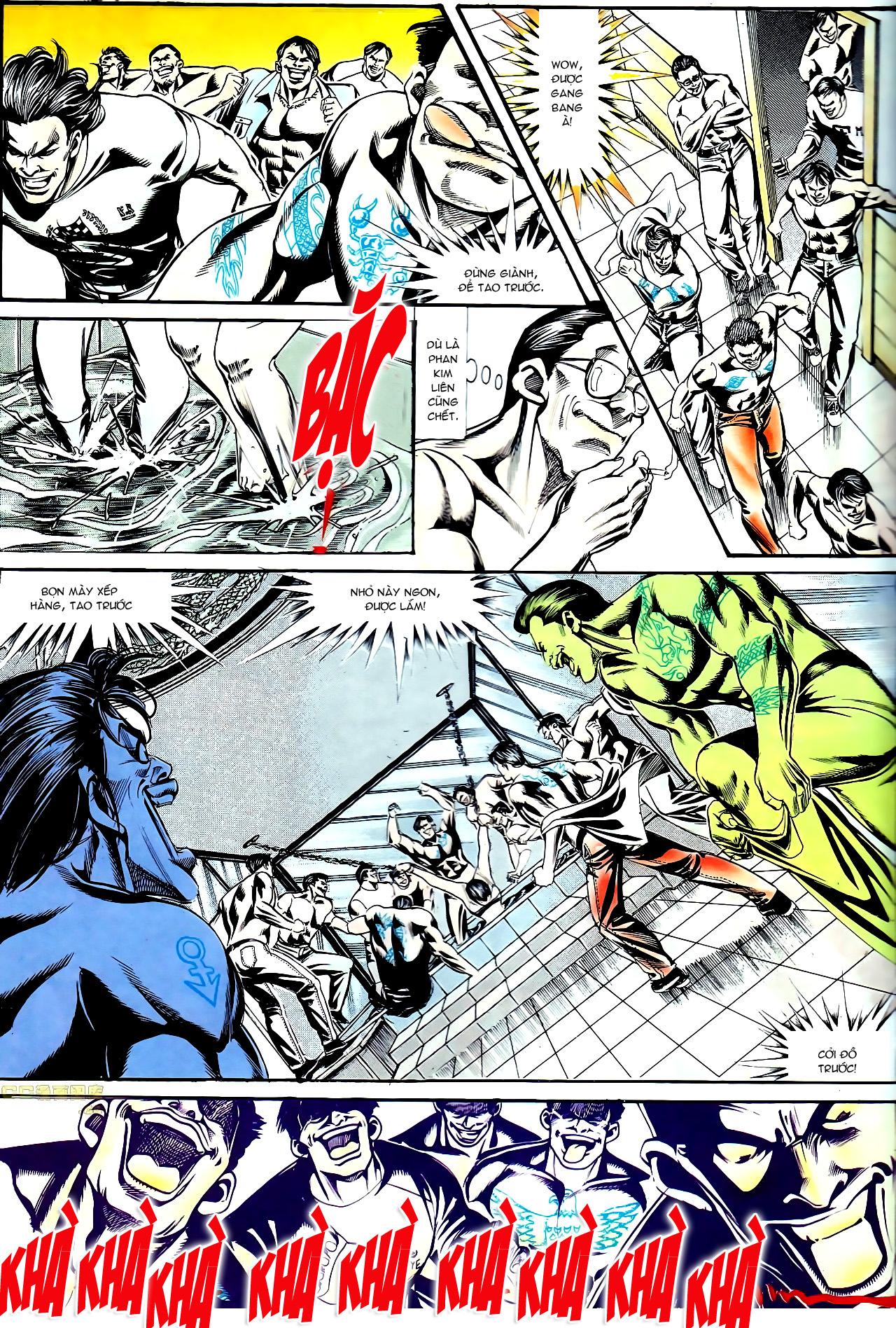 Người Trong Giang Hồ chapter 140: vây giết a khôn trang 25