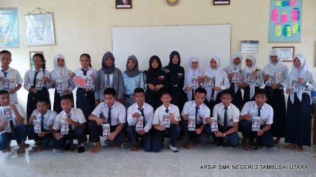 Sosialisasi Penerimaan Siswa Baru di SMPN 3 Tambusai Utara T.P. 2015/2016 Meriah 1