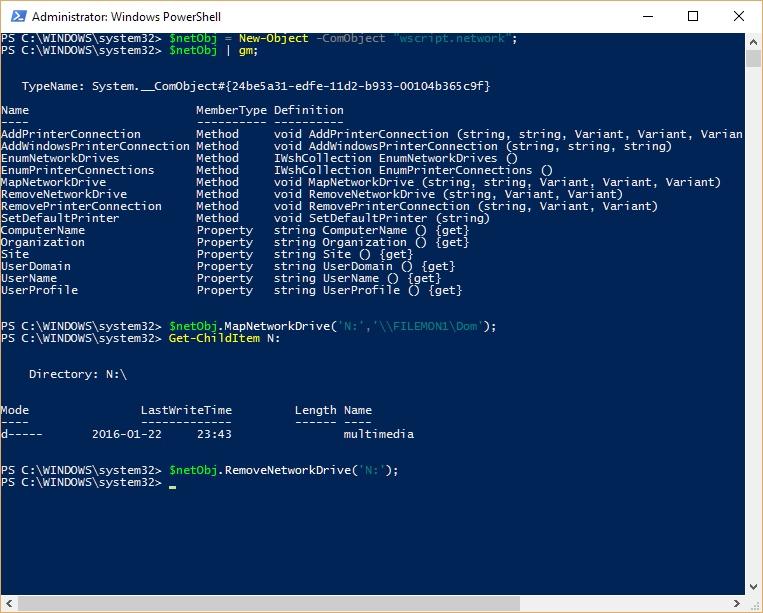 Tworzenie obiektów w PowerShell 5.0