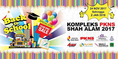 JUALAN PROMOSI 'BACK TO SCHOOL & YEAR END SALES'!!