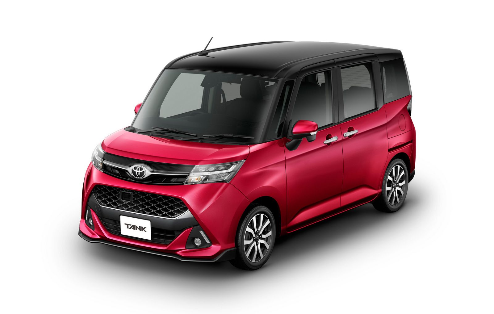 toyota roomy and tank minivans launch in japan carscoops. Black Bedroom Furniture Sets. Home Design Ideas