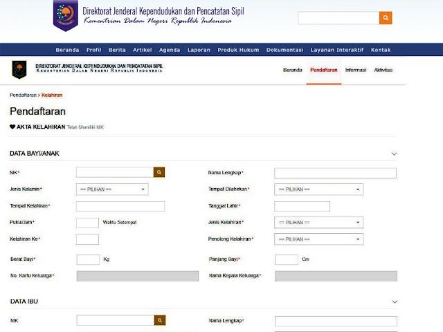 Panduan dan Persyaratan Pembuatan Akta Kelahiran Secara Online