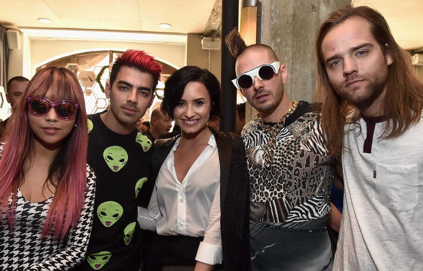 Demi Lovato y DNCE unen fuerzas para concierto privado