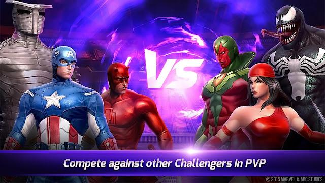 لعبة معركة مارفيل المستقبلية MARVEL Future Fight v2.7.0 مهكرة للاندرويد