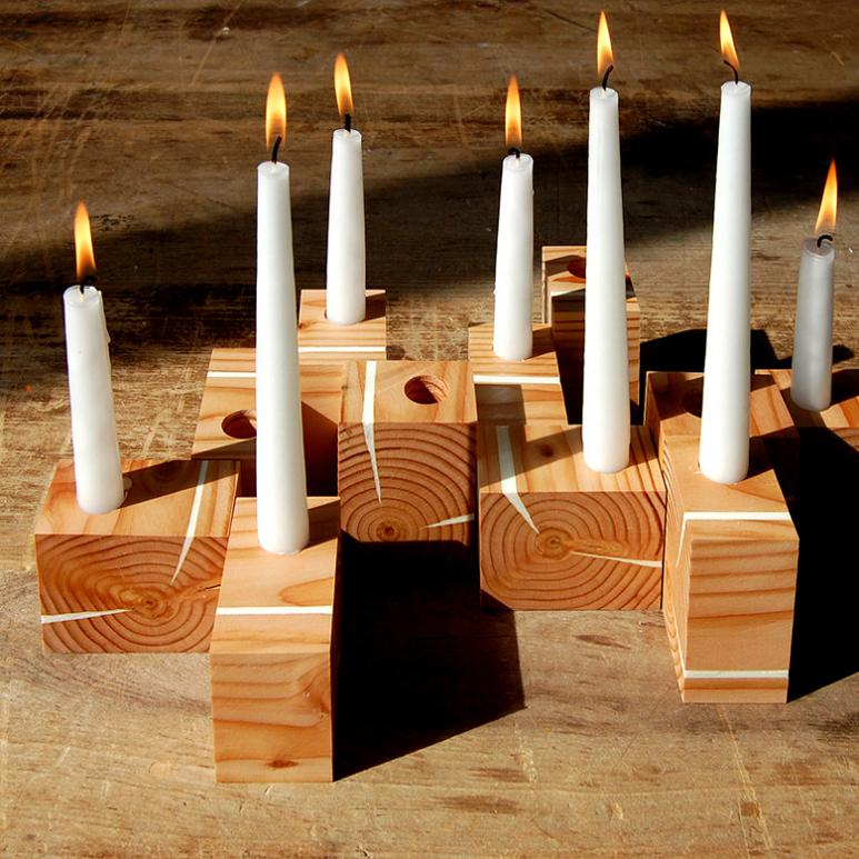 15 Creative Tealights and Unusual Candle Holder Designs