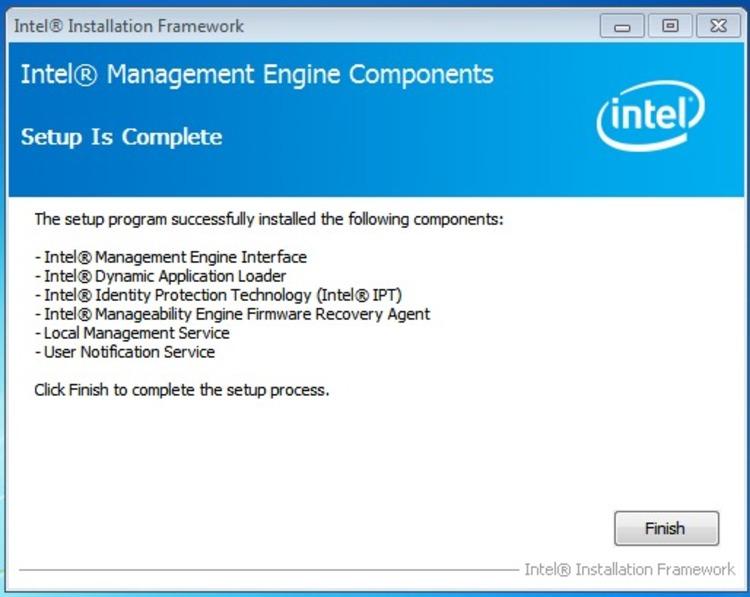 Intel Management Engine Components Deaktivieren