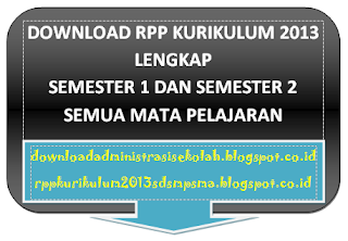 RPP PAI Kelas 7 Kurikulum 2013 Semester 1 dan 2