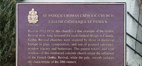 St Patricks Church Medicine Hat Alberta