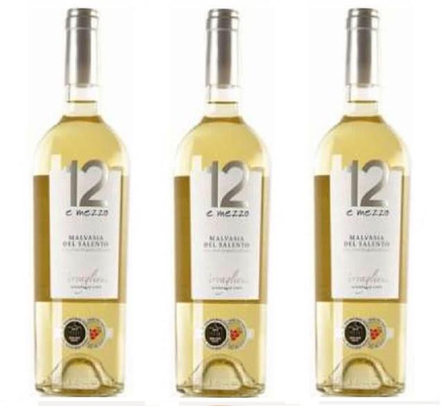 Rượu vang Ý: 12 E Mezzo Malvasia