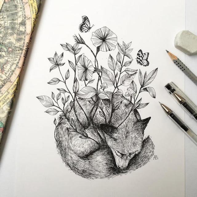 رسومات بالقلم الرصاص إبداعية