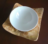 Smallest fabric bowl  perfect for single servings