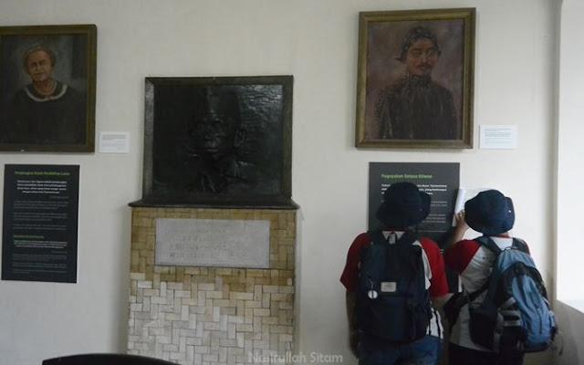 Peserta di dalam museum Ki Hadjar Dewantara Yogyakarta