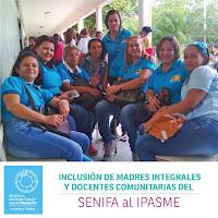 Ministerio de Educación incluye a madres integrales y docentes del Senifa al Ipasme