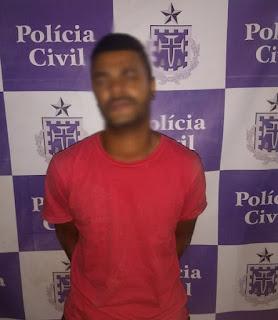 Homem é preso após realizar roubo e invadir residência