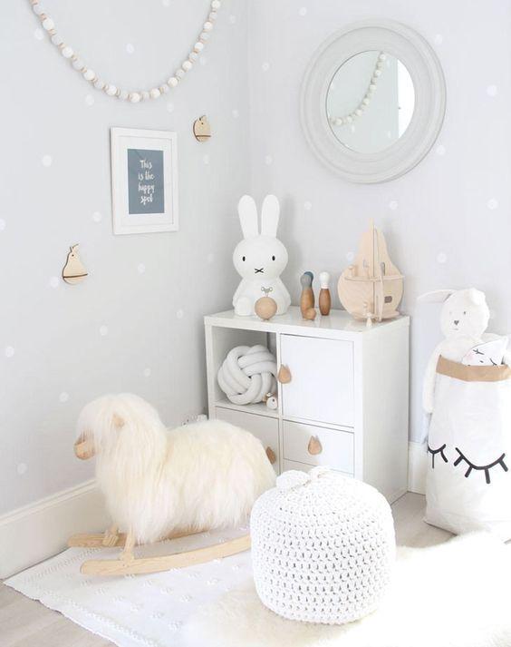 White Baby Cot Room Inspo