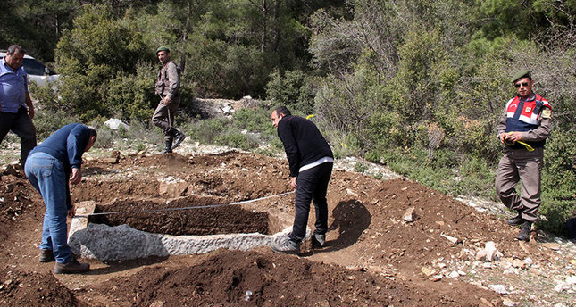 Ancient tomb discovered in south western Turkey