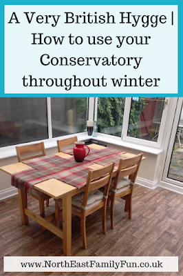 A Very British Hygge | How to use your Conservatory throughout winter