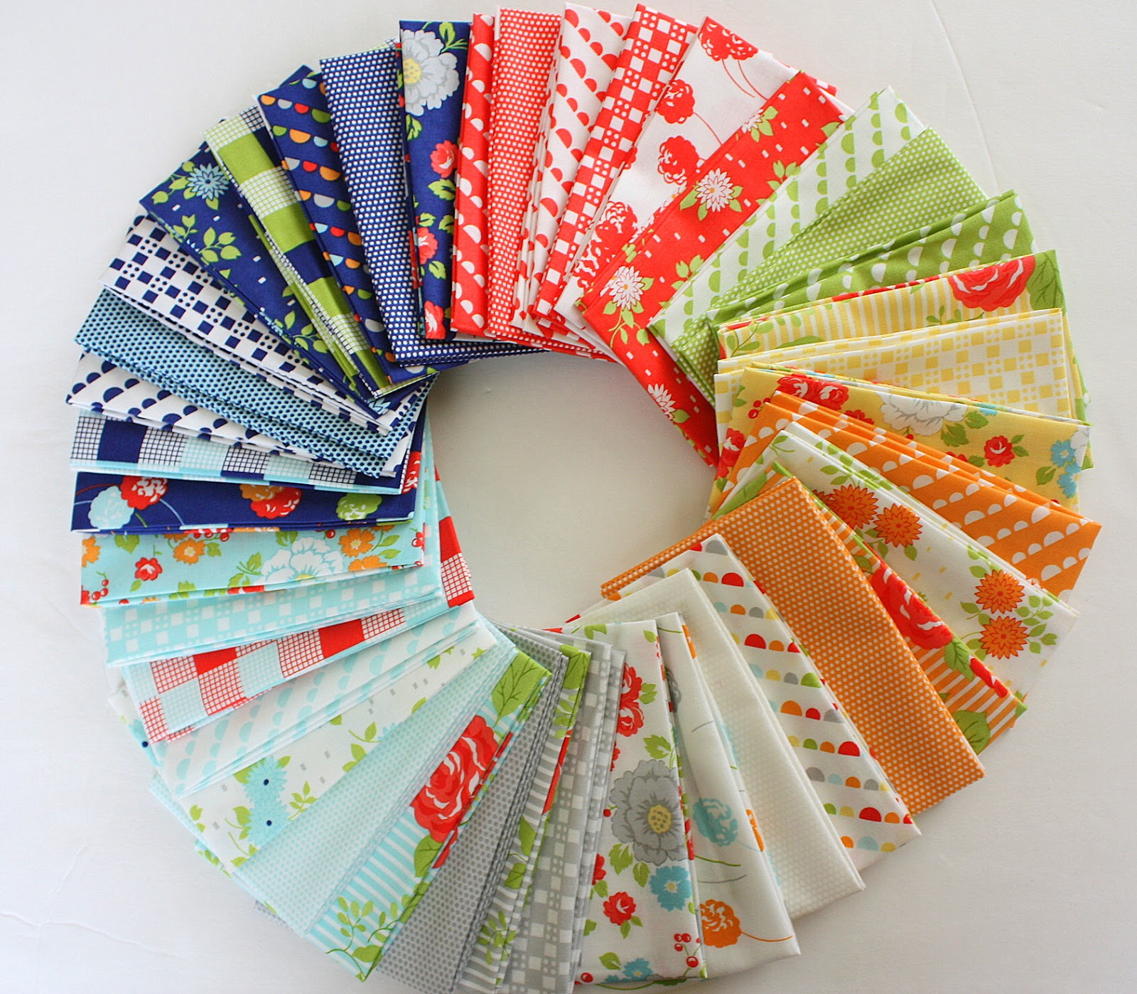 A Few Tips on Choosing Fabric - Virtual Quilting Bee part 2 ... : quilt colors schemes - Adamdwight.com