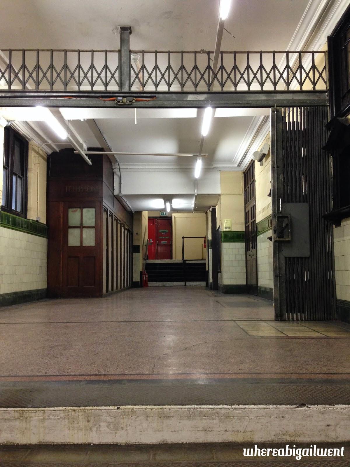 Aldwych Station Lobby