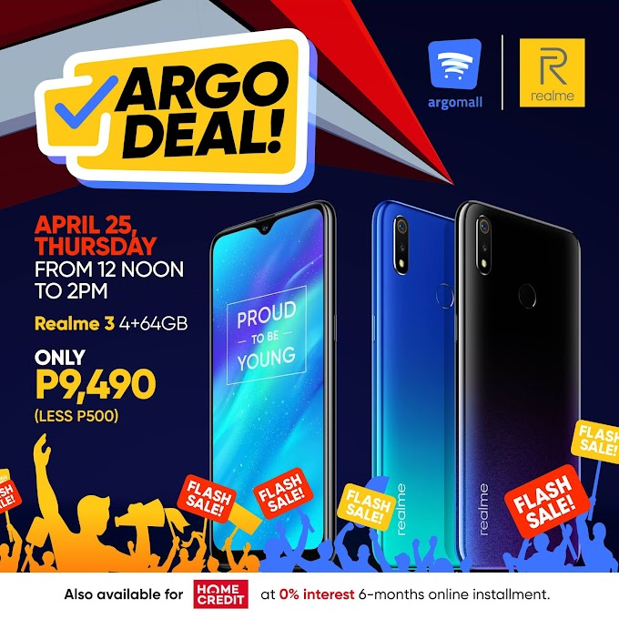 Argomall Forges Partnership with Realme, Announces Realme 3 Flash Sale