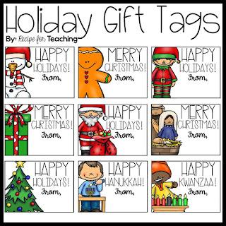 https://www.teacherspayteachers.com/Product/Holiday-Gift-Tags-2232044