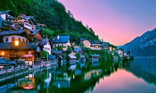 Tourism, Hallstatt, Austria