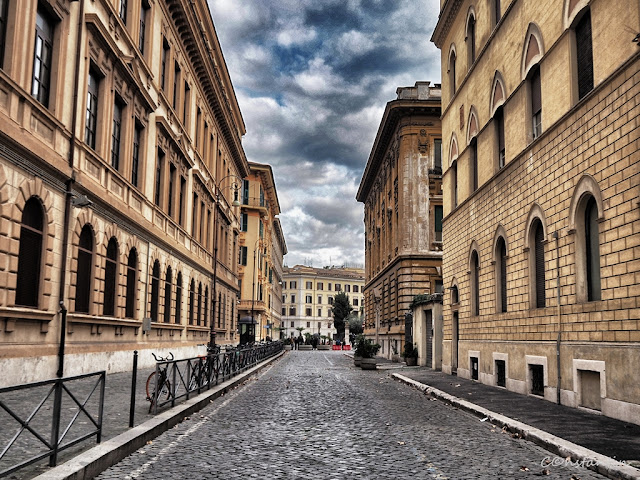 Roma - Jewish Ghetto -Clãdiri în zona ghetoului (3)