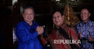 Usai Bertemu Prabowo, SBY : Penggunaan Kekuasaan Jangan Melampaui Batas
