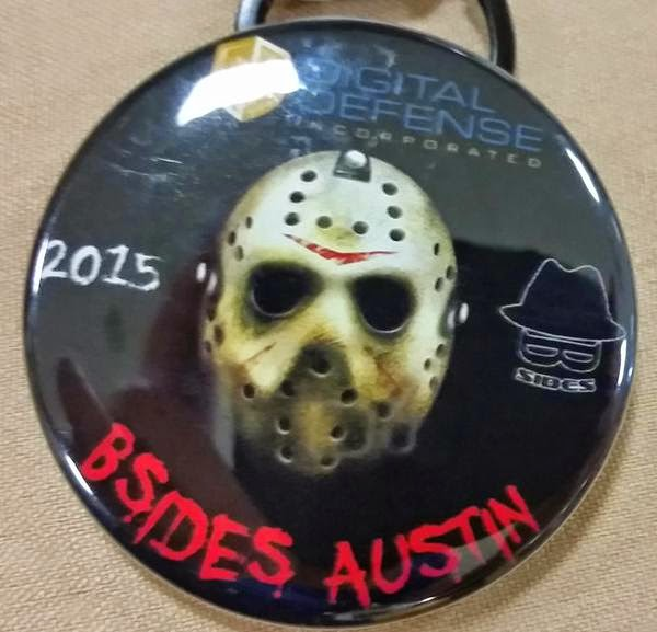 A recap of the 2015 Austin B-Sides security conference, with links to speakers and slides where available