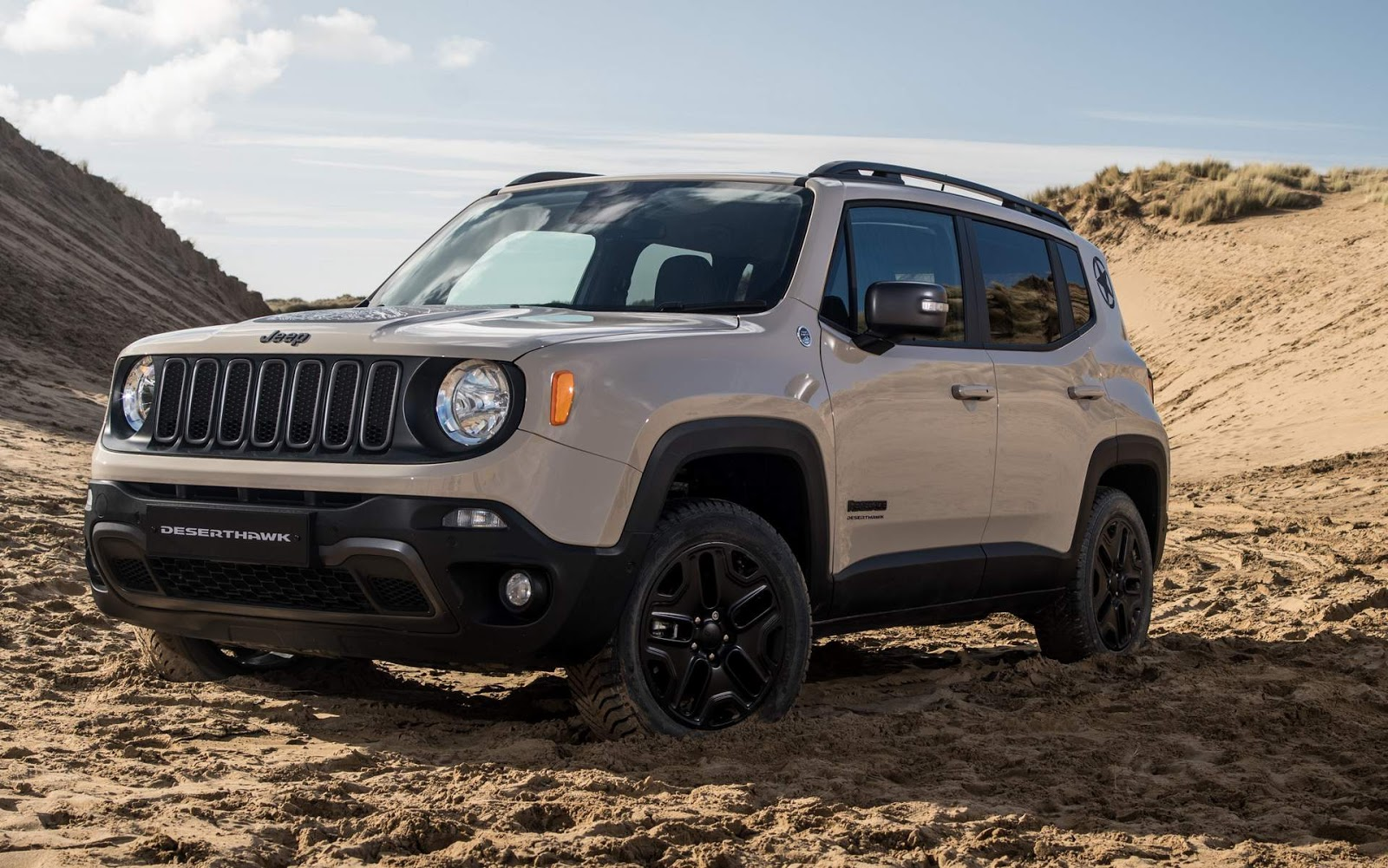 jeep renegade desert hawk s rie especial limitada car blog br. Black Bedroom Furniture Sets. Home Design Ideas