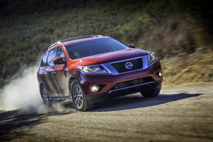 Nissan Pathfinder 4X4 System pictures
