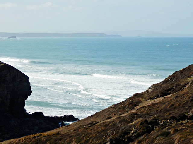 On the Cornish coastal path