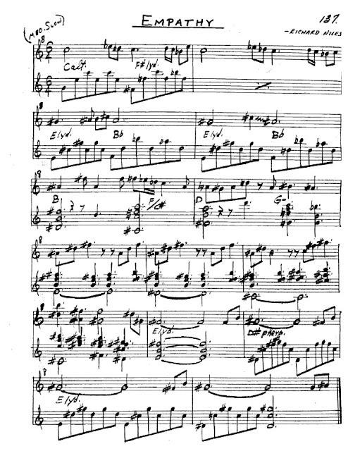 Partitura Saxofón Richard Niles
