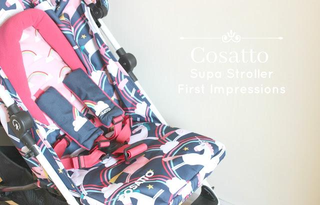 Cosatto Magic Unicorns Supa Stroller Review