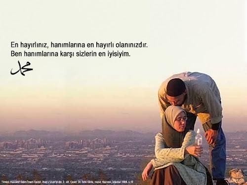 Resimli Hadisler - Eş Hanım Evlilik Müslüman Eşler