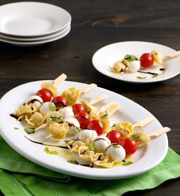 Tortellini Antipasto Skewers Recipe
