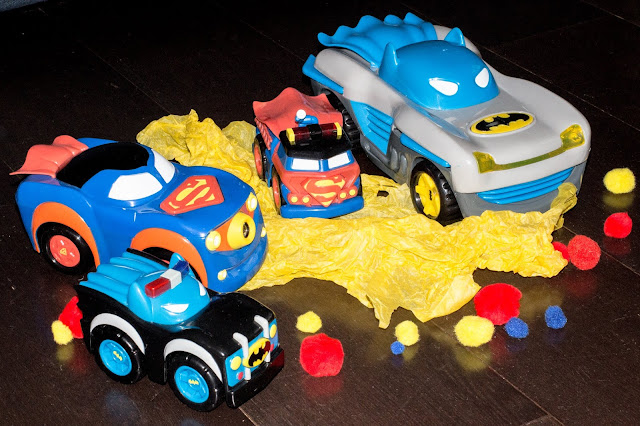 Review of the Herodrive DC Super Friends Preschooler Toy cars