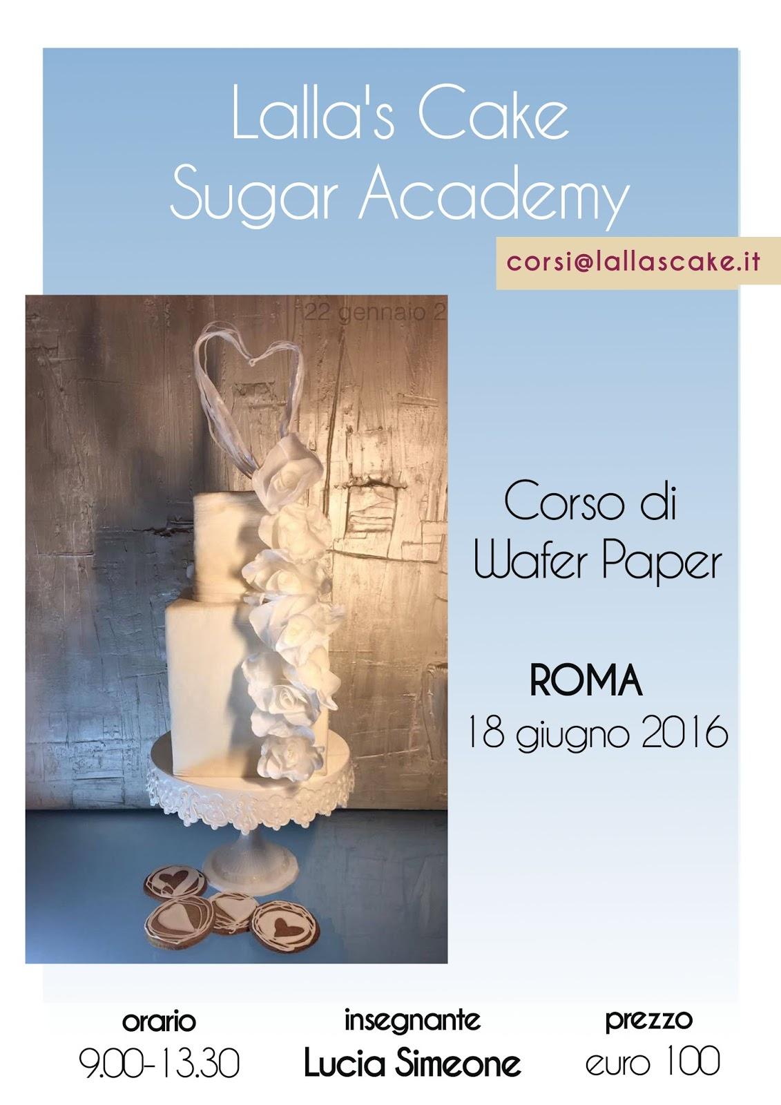 Lalla 39 s cake cake design pasticceria e lifestyle corso - Corso di design roma ...