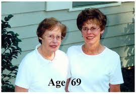 Kisah Kembar Seiras Tapi Berbeza Apabila Berusia? 69 Tahun