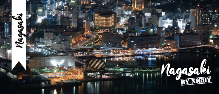 Nagasaki by night