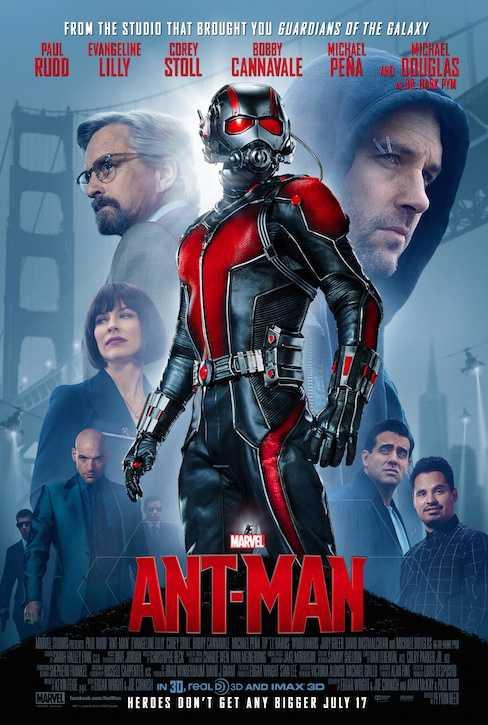 Poster Ant-Man 2015 Dual Audio HD 720p