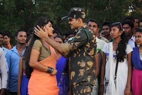 प्रियंका पंडित और कल्लू का रोमांस फिल्म ''इंडिया वसे पाकिस्तान'' में !