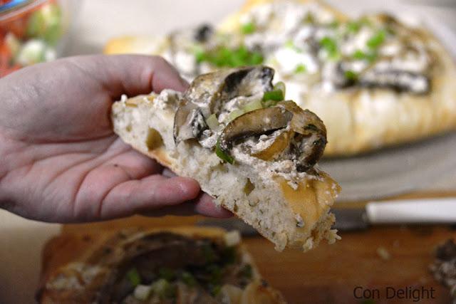 פרוסת פוקאצ'ה focaccia slice