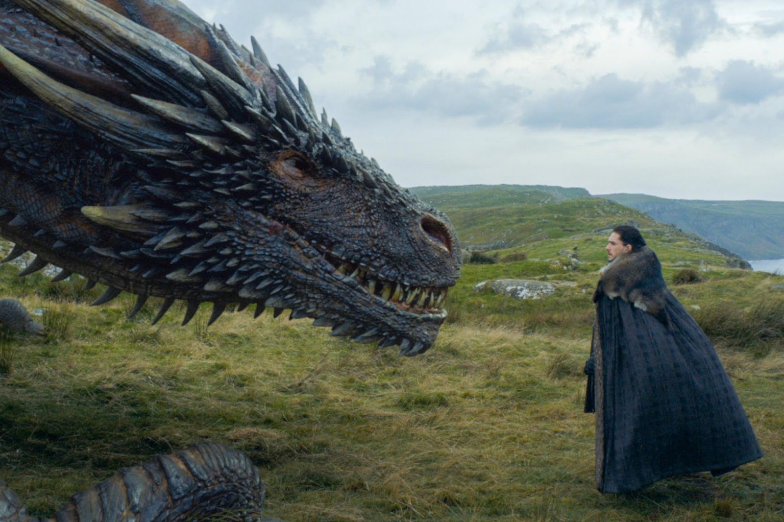 Game of Thrones 7x05 Eastwatch Jon Drogon