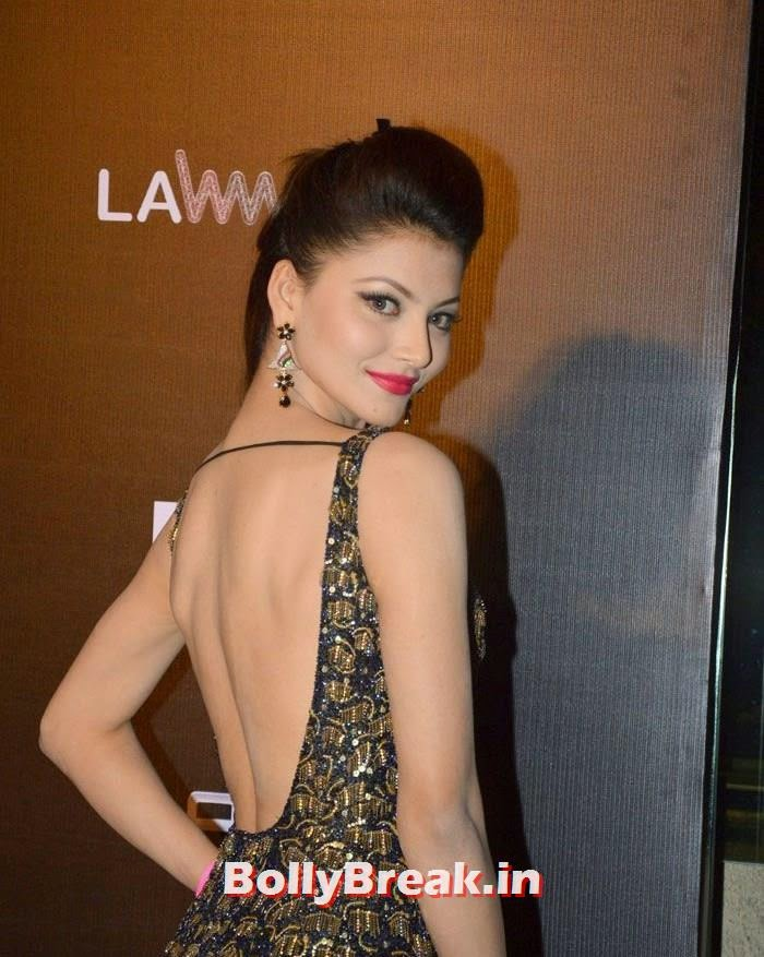 Axe Signature & FHM Bachelor of the year 2014 Award, Urvashi Rautela Hot Pics from FHM Bachelor of the year 2014 Award